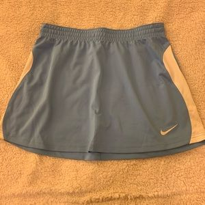 Nike Light Blue Dri-Fit Tennis Skirt